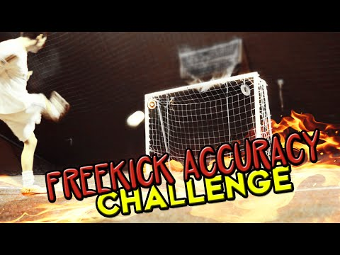 FREEKICK ACCURACY CHALLENGE!
