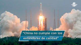 """""""Está claro que China no está cumpliendo con los estándares de responsabilidad sobre su basura espacial"""", señaló el senador Bill Nelson, administrador de la NASA"""