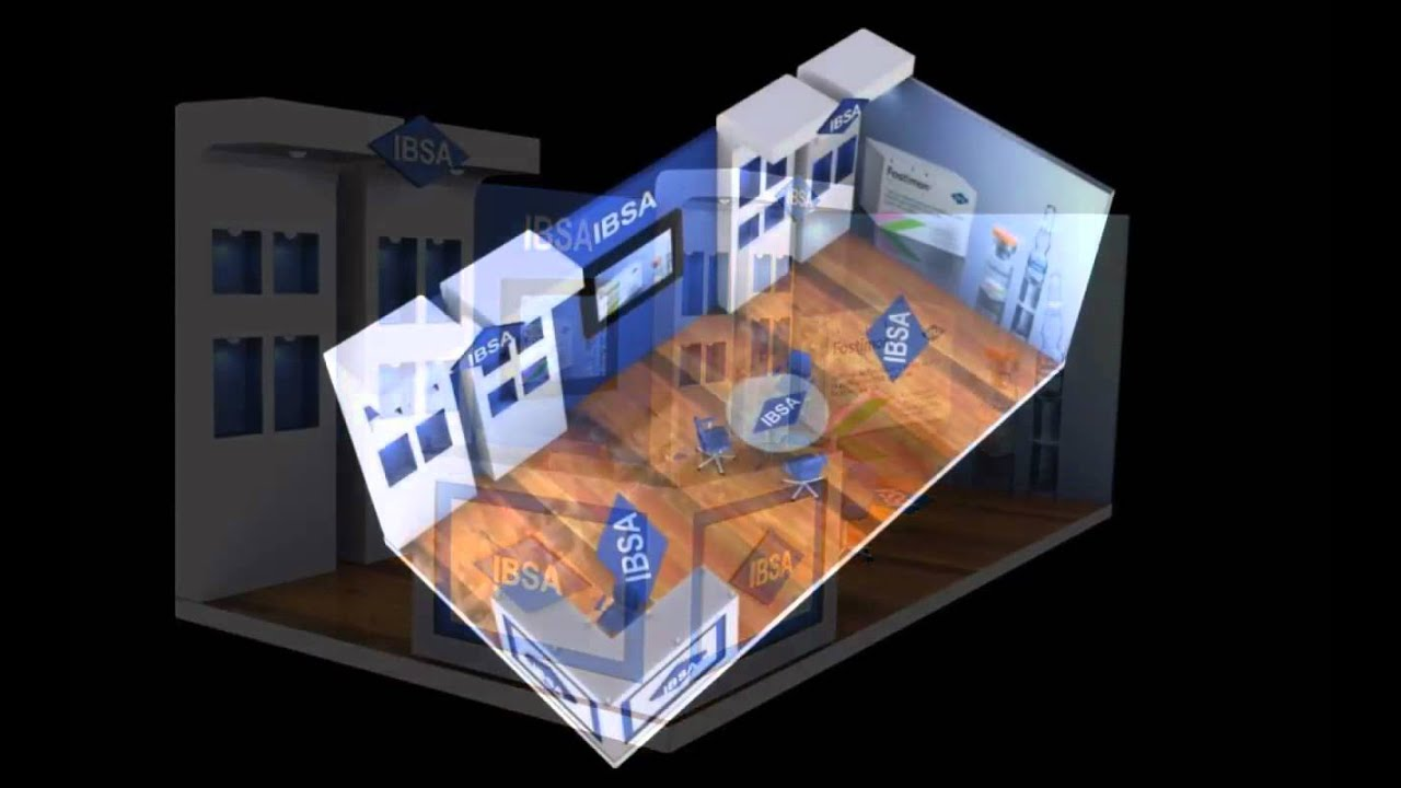 Exhibition Stand Design 3d Max : Exhibition stand designs using d max mov youtube