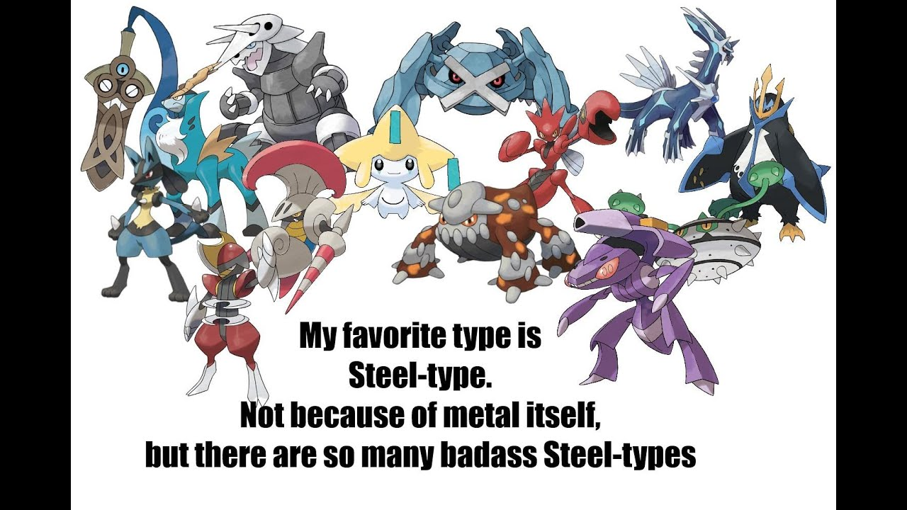 6 pokemon mono type battle x y mono steel youtube