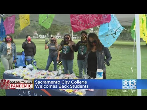 Sacramento City College Welcomes Back Students
