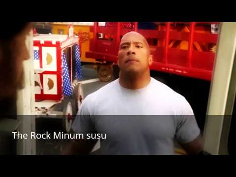 Iklan LAWAK - The Rock minum susu lembu ( Lawak Pecah Perut!!! )
