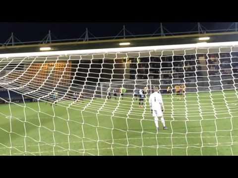 Cambridge United V Wycombe Wanderers 2015/16 season Fan Eye View