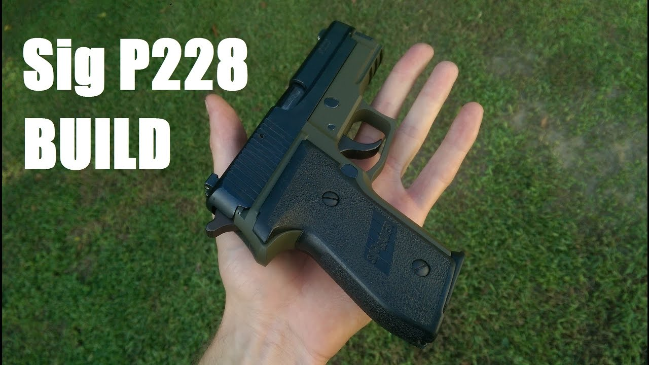 Sig P228 80% Build- Part 4: Cerakote and Review