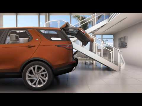 All-New Land Rover Discovery 17MY - Gesture Tailgate & Powered Inner tailgate