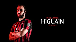 GONZALO HIGUAIN - WELCOME TO AC MILAN ? Goals & Skills 2017/ 2018