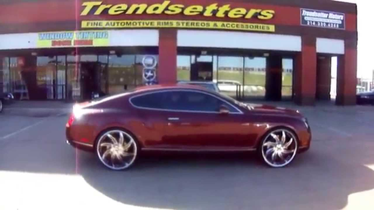 24 inch forgiatos on a limited edition bentley youtube sciox Images
