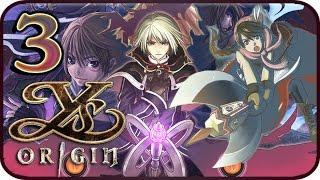 Ys Origin Walkthrough Part 3 (PS4, VITA) Gameplay - Yunica