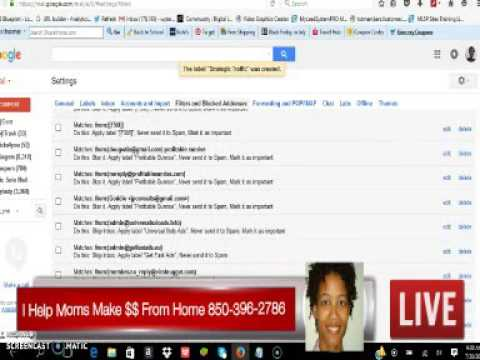 Digisoft Payline Training How to Organize Your Gmail Inbox for Safelists