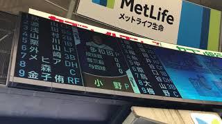 初遠征番外編です! 埼玉西武ライオンズVS阪神タイガース 交流戦第2回戦...