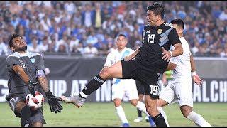 Giovanni Simeone VS Guatemala● Debut Match For Argentina● 08/09/2018 HD
