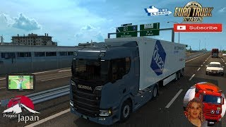 Euro Truck Simulator 2 (1.35)   Project Japan Japan re-created in 1:19 First Look Scania S 2016 Next Gen by SCS Software + DLC's & Mods Project Japan is a stand-alone project looking to re-create the whole country of Japan. Since my Project West mod for A