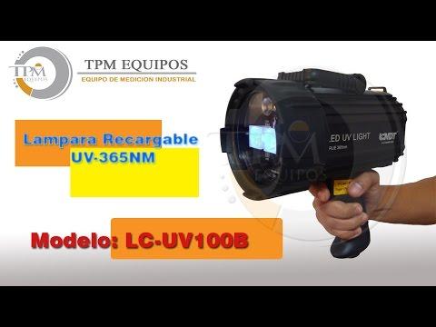 Lampara Recargable UV-365NM LC-UV100B
