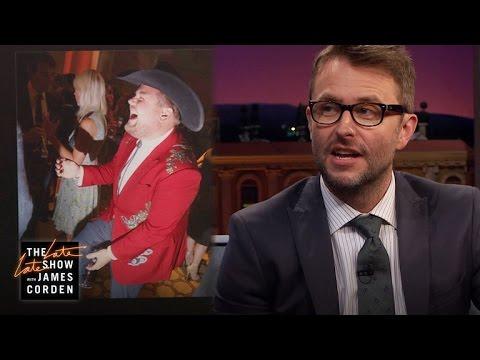 Cowboy Corden Recalls Chris Hardwick's Epic Wedding