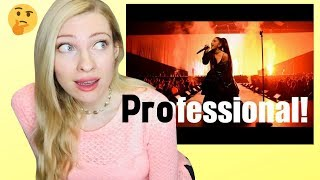 Download lagu Musicians Reaction: 7 performances that Show how professional Ariana Grande is