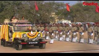 Collector Sweta Mohanty Participated in Republic Day Celebration | Wanaparthy | Sneha TV Telugu
