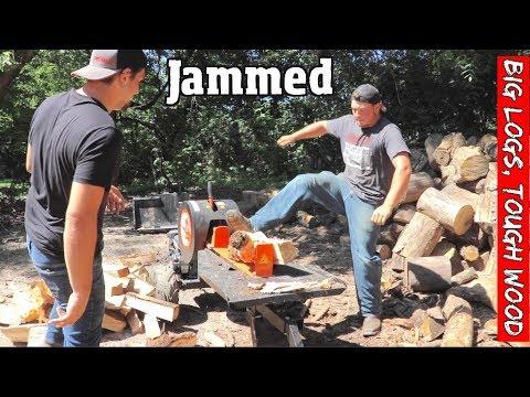 Can A kinetic Wood splitter handle Big Logs ?!?