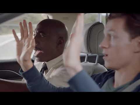 Том Холланд в рекламе Audi A8 с Человеком-пауком