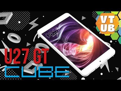 Посылка с Cube U27 и фирменным чехлом