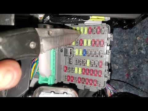 2019 Honda Accord Power Outlet Fuse and Relay Location