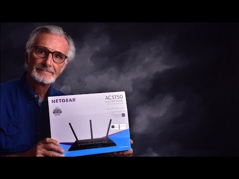 Unboxing & Easy Set-Up Of Netgear AC1750 WiFi Router