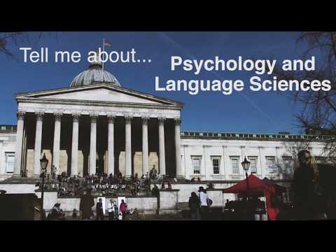 Tell me about Psychology and Language Sciences