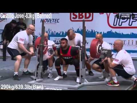 Powerlifting squat record