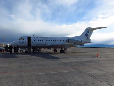 LADE F-28-1000(C) - Flight From San Carlos De Bariloche (BRC) To El Calafate (FTE), Argentina