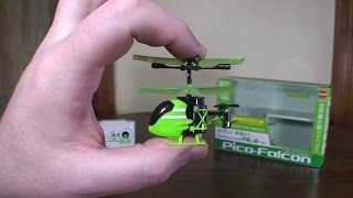 Silverlit - Pico Falcon (2015 World's Smallest RC Helicopter) - Review and Flight