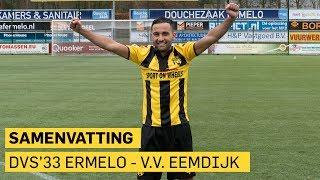 DVS'33 Ermelo - V.v. Eemdijk: 5-0