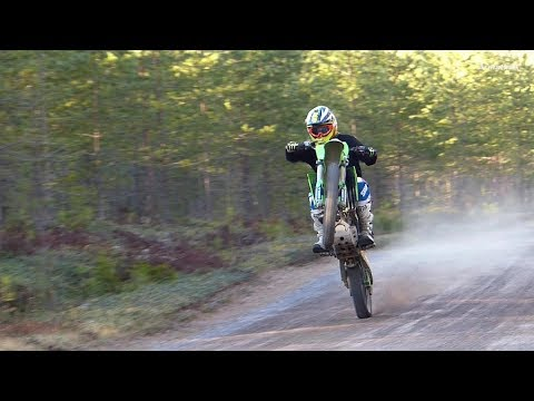 Sweet 4 Stroke Sounds of KX250F DirtBike