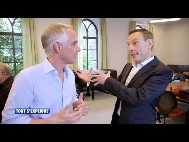 TOUT S'EXPLIQUE. Musique maestro ! RTL-TVI, Thomas Van Hamme