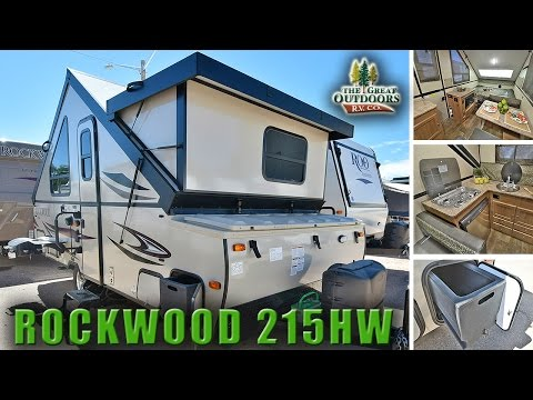 New Pop Up Hard Side 2018 Rockwood 215HW A Frame Camper RV Colorado Dealer