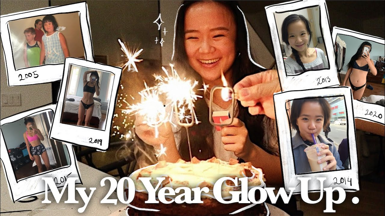 my 20 year glow-up story | what I eat for my BIRTHDAY WEEK | my issues w/ food & body image