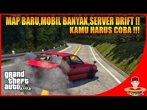 GTA V MOD ONLINE (3) - WOW MAKIN REALISTIS SERVER DRIFT INI !!