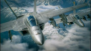 ACE COMBAT 7: Developer Demo Walkthrough with the F-18 Super Hornet (1080P 60FPS)