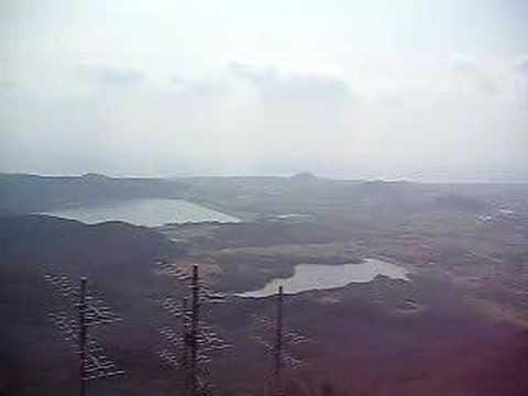 於茂登岳の山頂からの景色(南)