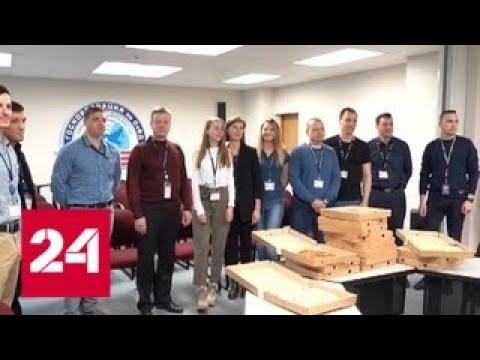 Смотреть фото Пицца с Аляски: магаданским авиадиспетчерам передали вкусный привет - Россия 24 новости Россия