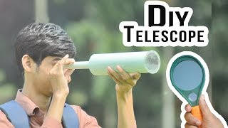 How to Make a Telescope at home | DIY Telescope