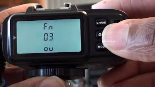 How to use Godox XIT with SK300 II PC Sync socket