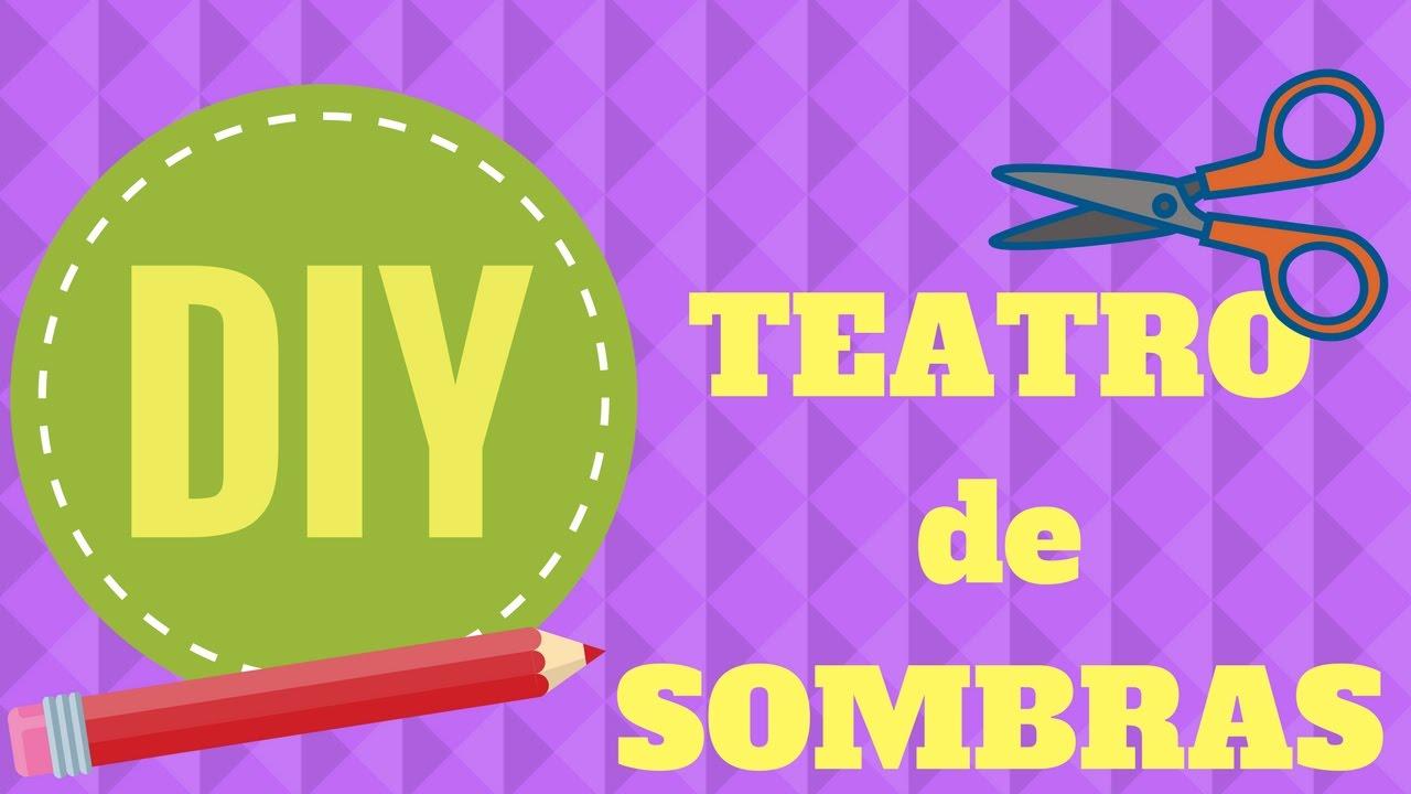 DIY - HAZ un TEATRO de SOMBRAS con una CAJA - YouTube