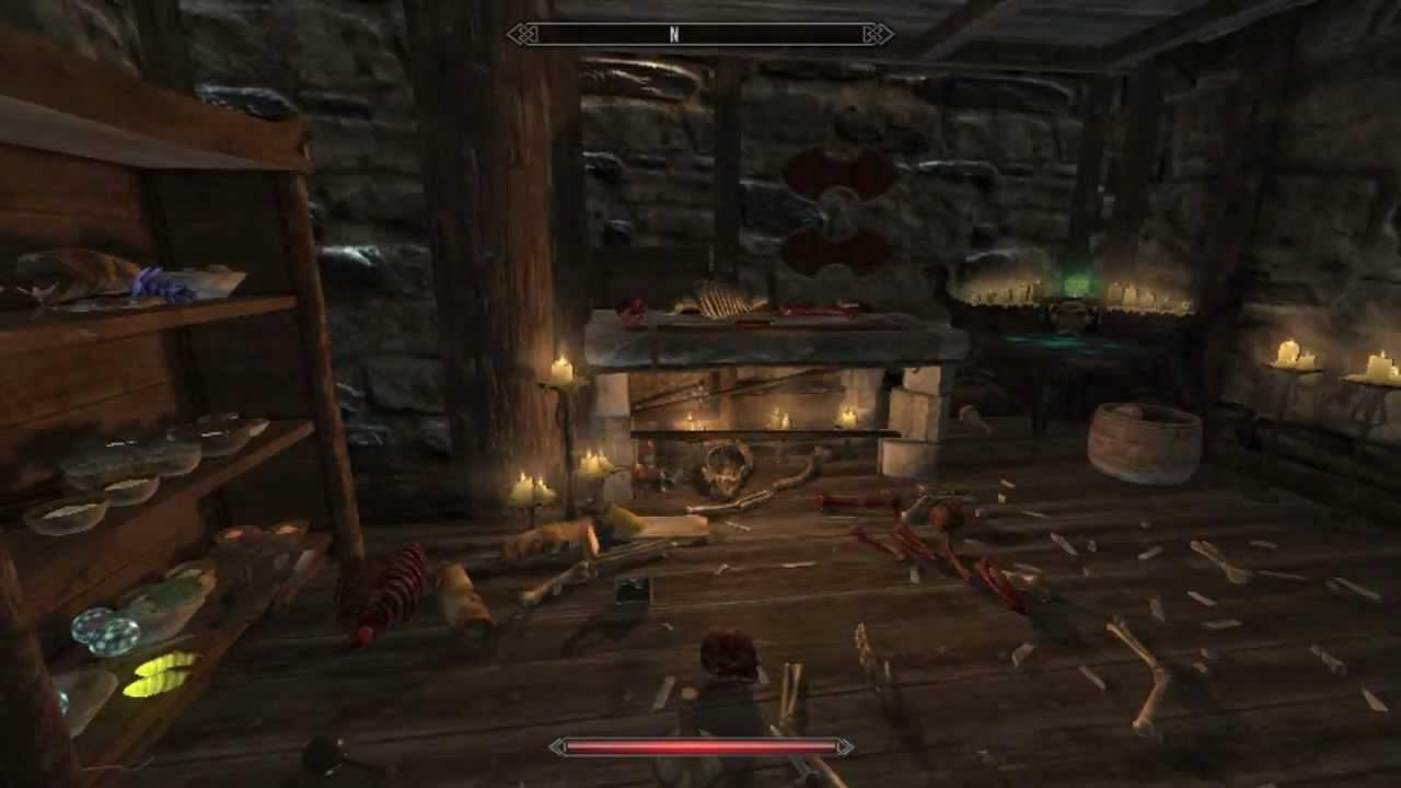 Skyrim Windhelm House Fully Furnished YouTube