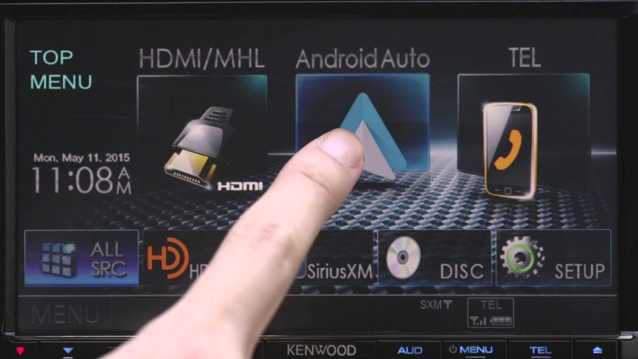 kenwood meets android auto 1 youtube. Black Bedroom Furniture Sets. Home Design Ideas