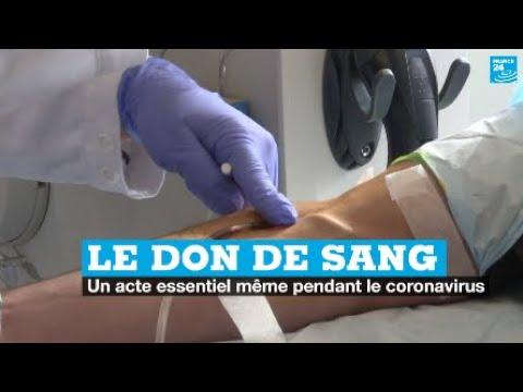 Le don du sang, un acte essentiel même pendant le coronavirus