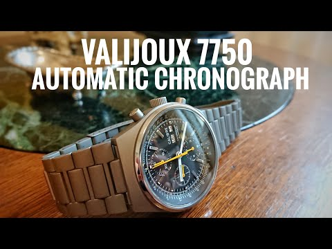 My very first custom 7750 automatic chronograph, Lorsa military watch