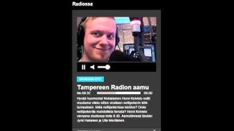 Yle Tampereen Radio - Henri Koivisto 15.10.2015 klo 8:40