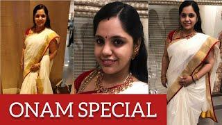 Saindhavi's Onam special | #happyonam