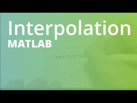 MATLAB: Interpolation