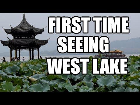 FIRST TIME SEEING WEST LAKE IN HANGZHOU, CHINA  [China Au Pair Vlog #13]