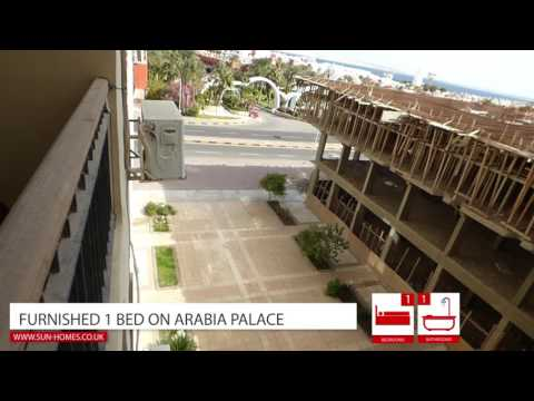 Furnished 1 bed for sale on Arabia Residence, Hurghada, Egypt